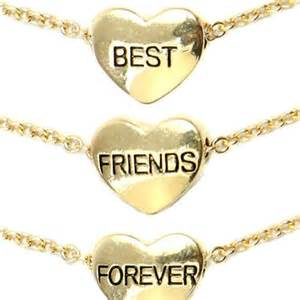 Bff 3 pack heart bracelets from shop jeen christmas tories