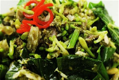 cara membuat nasi kuning manado cara membuat dan resep masakan tumis bunga pepaya khas