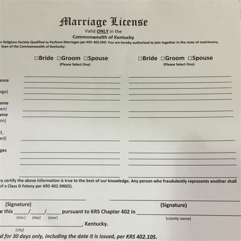 Government issued marriage certificate virginia