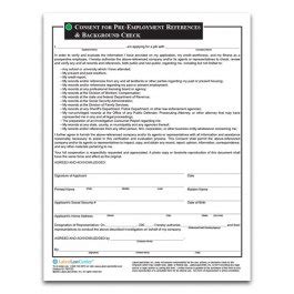 Free Pre Employment Background Check Employment Reference Check Background Check Form Laborlawcenter