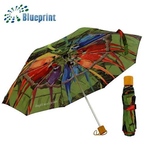 Forest Bird Design Folding Umbrella bird design compact umbrella factory golf umbrella factory wholesale umbrellas big led