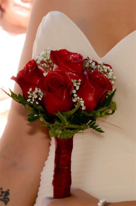 rose hand tied bridal bouquets las vegas weddings
