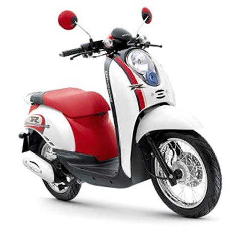 Spion Honda Scoopy Putih 1 Set Orisinil modifikasi honda scoopy retro tepat motor seo holidays oo
