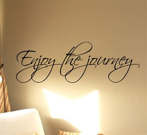 enjoy the journey wall decals trading phrases