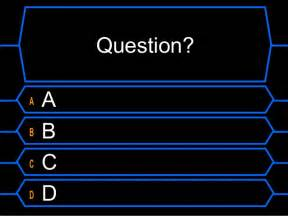Who Wants To Be A Millionaire Blank Template Powerpoint by Millionaire Template
