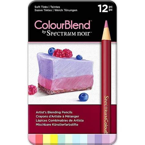 spectrum noir colored pencils spectrum noir colourblend colored pencils soft tints set