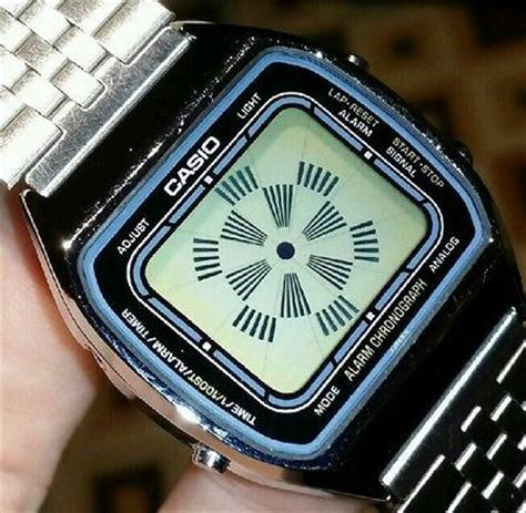 Led Watches Aa W020 Blue extremely vintage mens casio aa 85 blue thunder