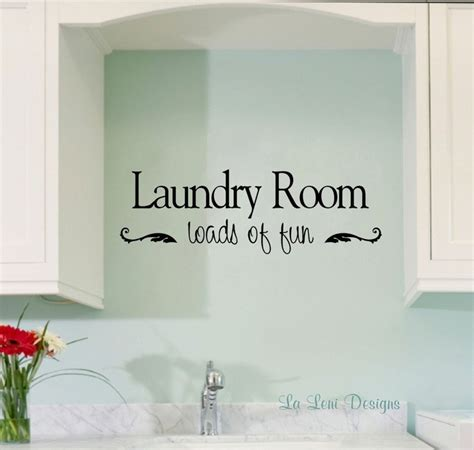 wall stickers for laundry room 1000 images about laundry room on