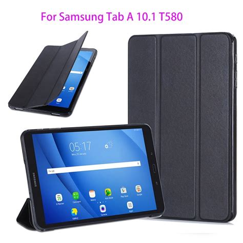 slim pu cover for samsung galaxy tab a a6 10 1 2016 t580 t585 t580n sm t580 protege tablet
