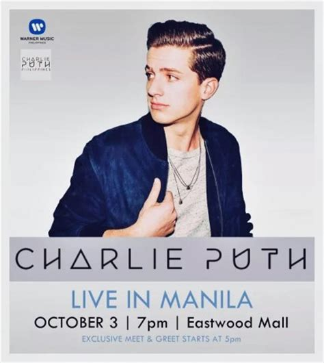 charlie puth nickname it s you and me seeing each other this october abs cbn