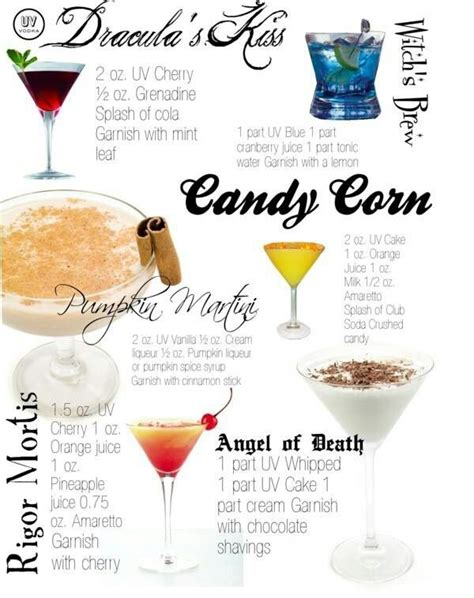 halloween drink names halloween ideas 6 spooky cocktails