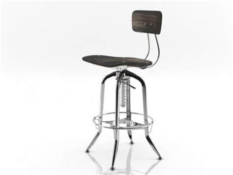 toledo bar chair vintage toledo bar chair 3d model restoration hardware
