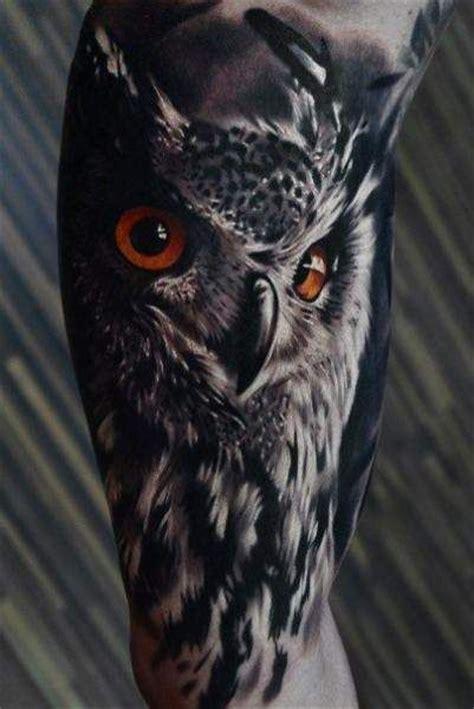 owl tattoo es buho realista tatto pinterest tatuajes ideas de