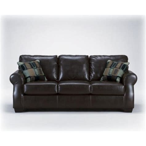 ashley furniture brown sofa 3200338 ashley furniture sofa dh bicast brown