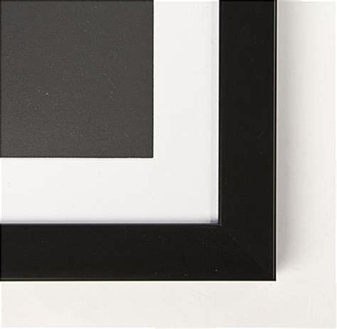 24 X 18 Frame With Mat by 24 X 18 Poster Frame Removable Matted Graphic Holder Black