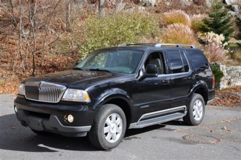 books on how cars work 2005 lincoln aviator engine control find used 2005 lincoln aviator awd 4 door no reserve low mileage one owner clean carfax in