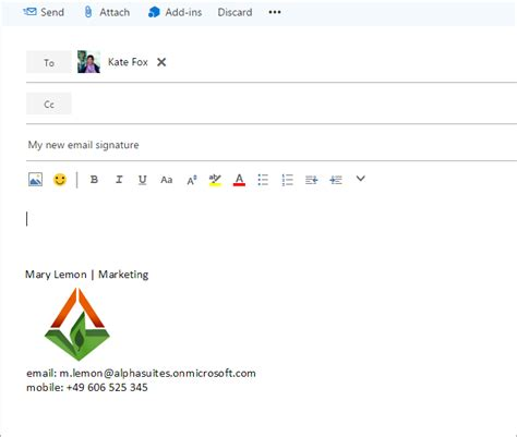 Office 365 Mail Change Signature Office 365 How To Change Signature 28 Images Set