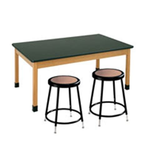 Science Tables And Stools by Science Laboratory Furniture