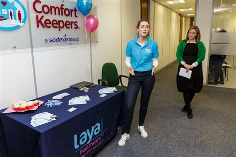 comfort keepers waterford comfort keepers partner with laya healthcare to launch new