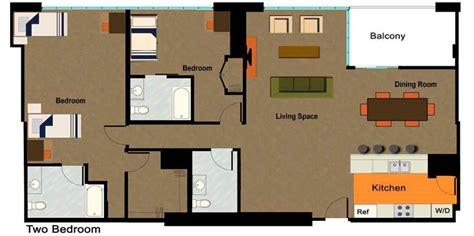 Apartment Floor Plan Design University Lofts