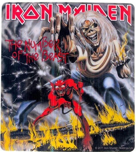 Of The Maiden iron maiden the number of the beast album cover www