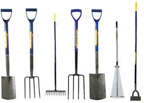 border digging garden spade shovel fork dutch hoe adjustable leaf rake steel new gardening