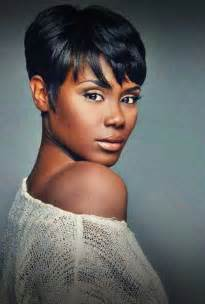 Simple thick round hairstyles african american short hairstyles 2016