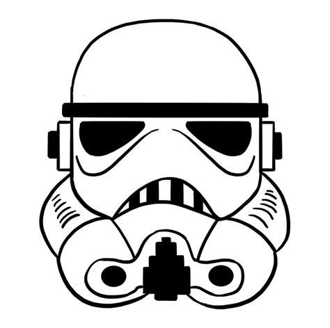 How To Draw A Stormtrooper Helmet