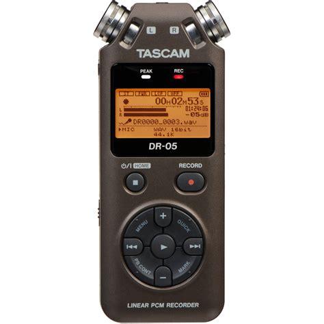 digital recorder tascam dr 05 portable handheld digital audio recorder dr 05br