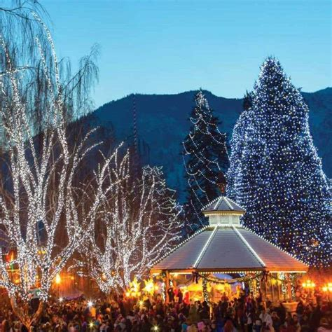leavenworth lights leavenworth lighting festival day trip from seattle