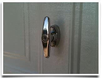 T Handle Garage Door Lock by Garage Door Accessories And Parts All County Garage Doors
