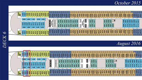 disney magic floor plan revised deck plans reveal additional disney wonder