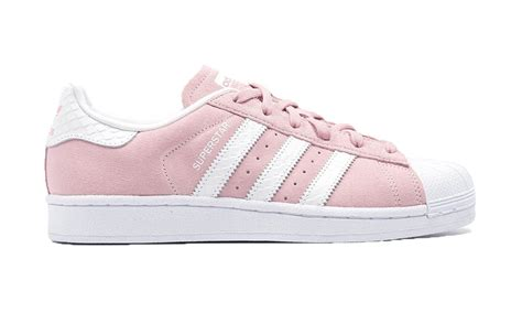 Adidas Superstar by Pink And White Adidas Superstar Suede Images