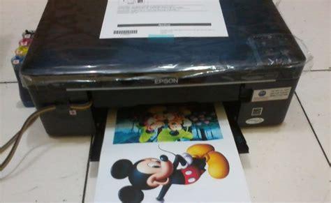 Printer Epson Yang Infus by Belajar Service Printer Baru Cara Memasang Infus Printer