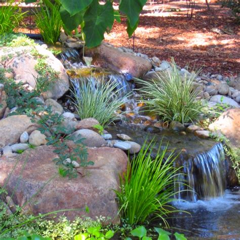 landscape water features water feature design and installation ponds waterfalls