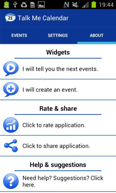 Calendar Reminder App Talking Calendar Reminder App Android Apps On Play