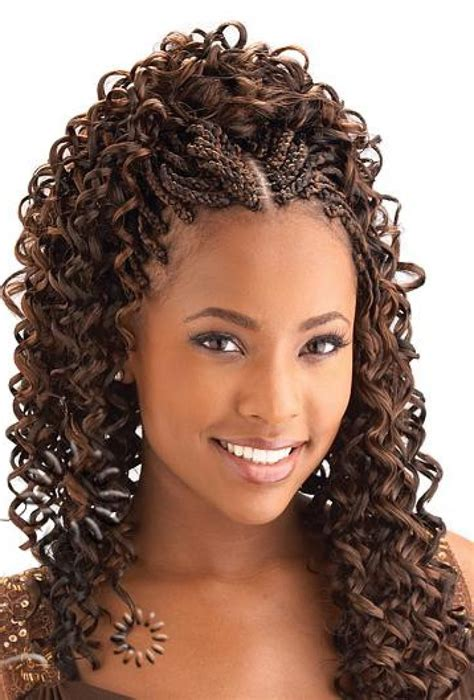 Black Braids Hairstyles For Women Wet And Wavy | micro braids hairstyles google search cute pinterest