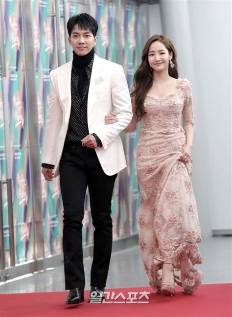 lee seung gi park min young lee seung gi and park min young gorgeous and still