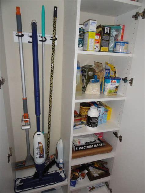 Utility Closet Storage by Utility Closet Design Organized House