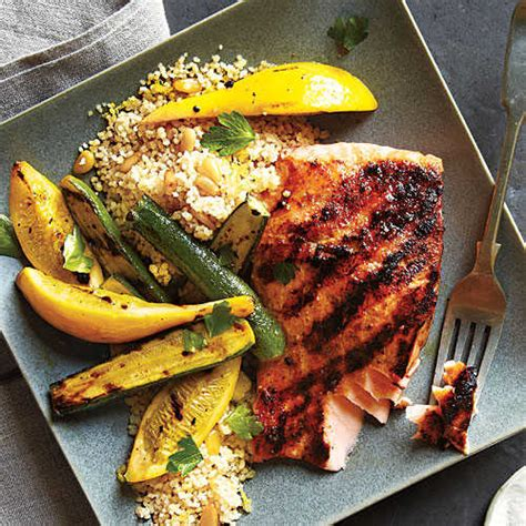 grilled salmon recipes cooking light