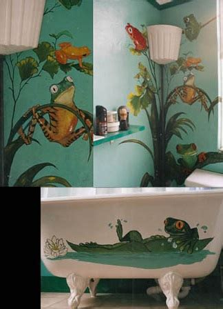 frog home decor fun frog bath item home interiors