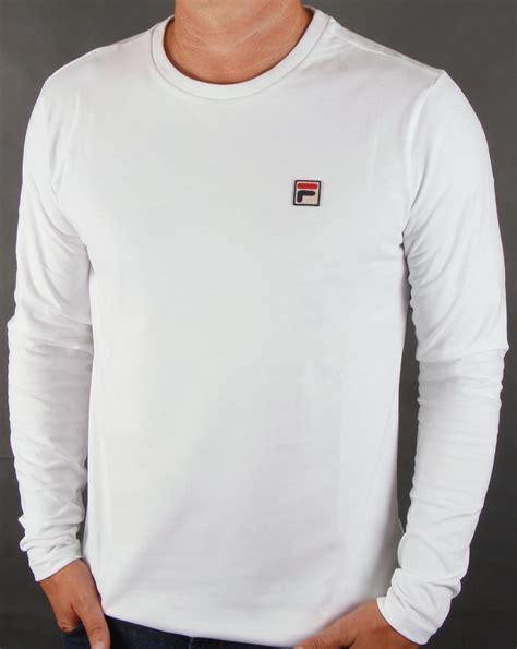 T Shirt Maurent Crasso White fila vintage sleeve t shirt white mens