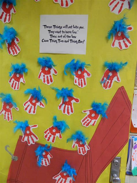 Dr Seuss Door Decorating Contest by Mrs S Kindergarten Class