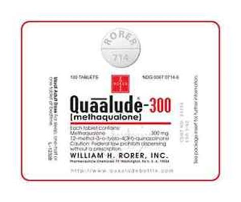 Quaaludes Also Search For Opinions On Methaqualone