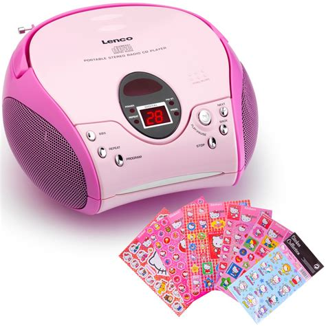 Hello Kittys Cheap Mp3 Player And Matching Station by Stereo System Cd Mp3 Player Radio Recorder System