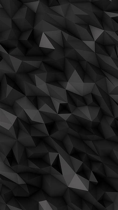 galaxy note hd wallpapers  dark abstract polygons