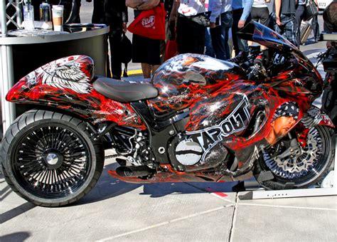 Suzuki Motorcycles Las Vegas 2009 Suzuki Hayabusa Tribute Bike Debut In Dub Booth At