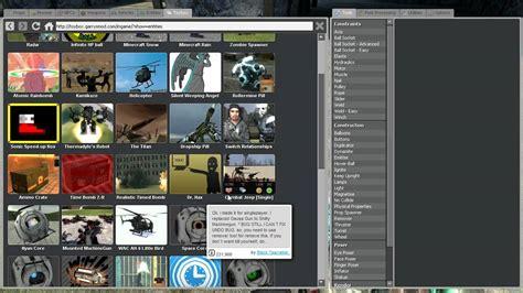 tutorial mod game online gmod toybox tutorial youtube
