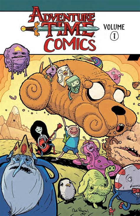 pulling seams the adventure volume 1 books sep161399 adventure time comics tp vol 01 previews world