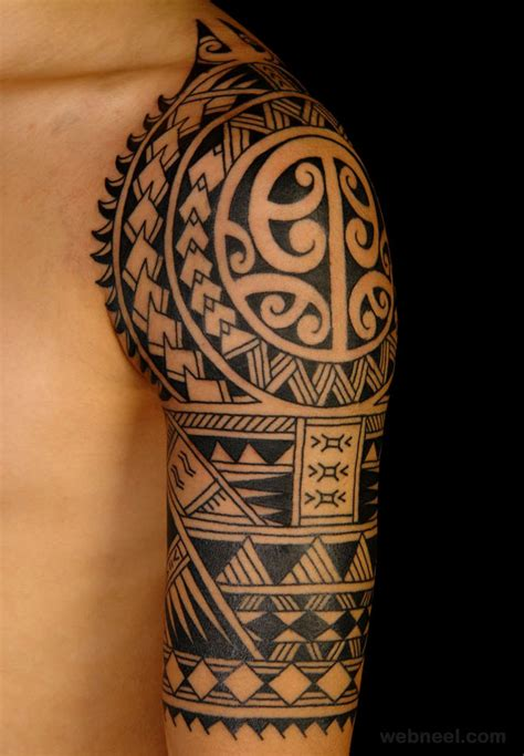 tasteful tattoos for men tribal designs models picture
